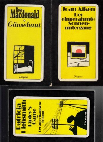 Gänsehaut - Ripley`s Game oder Der amerikanische Freund - Der eingerahmte Sonnenuntergang 3 Bücher