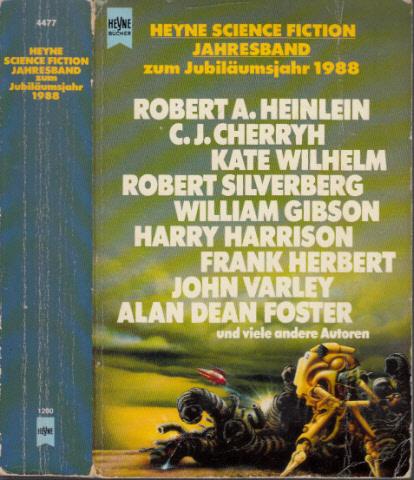 Heyne Science Fiction Jahresband zum Jubiläumsjahr 1988 - Jeschke, Wolfgang;