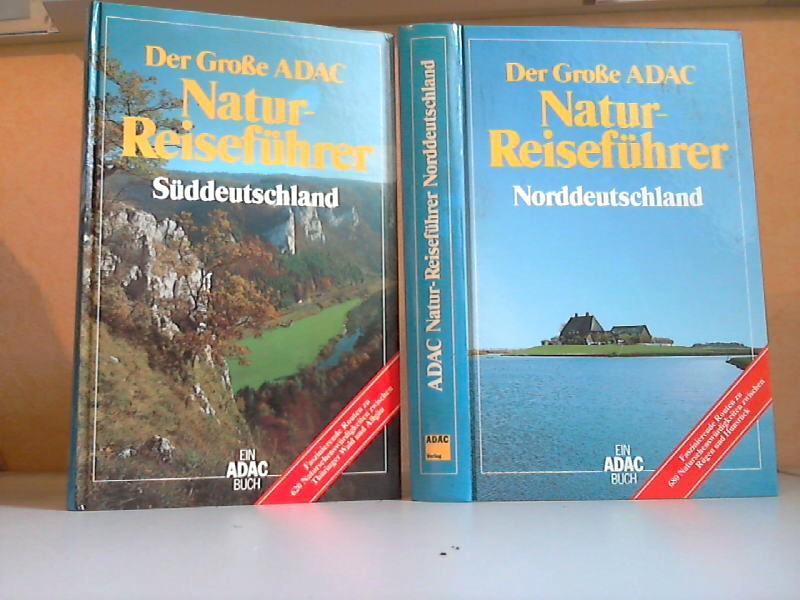 Bässler-Pietsch, Ulrike; Der Große ADAC Natur-Reiseführer Norddeutschland +Süddeutschland 2 Bücher