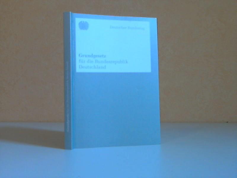 Grundgesetz für die Bundesrepublik Deutschland - Stand September 2010