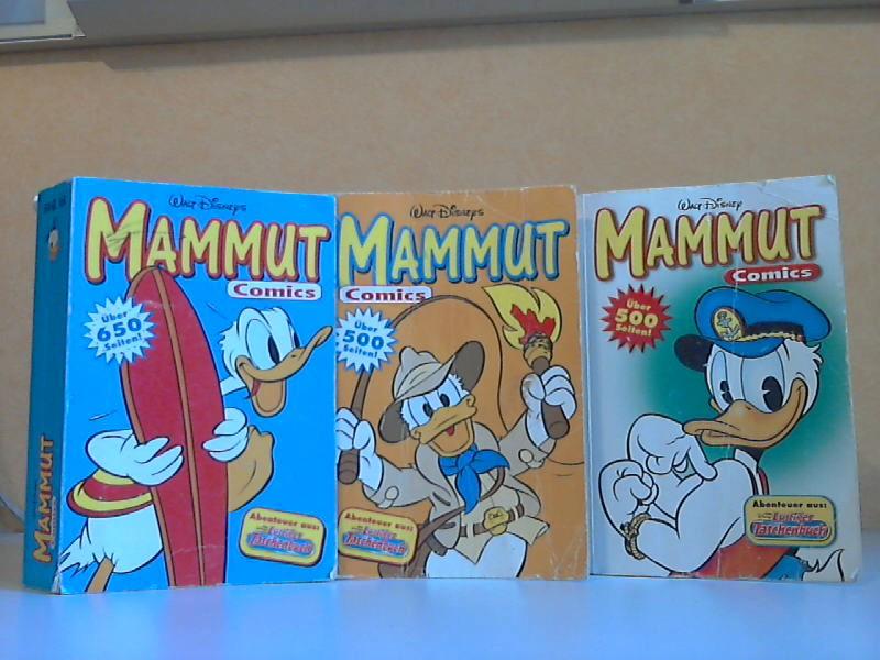 Mammut Comics Band Nr. 12, 68, 74 - Abenteuer aus: Lustiges Taschenbuch 3 Bücher