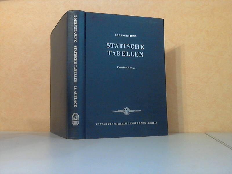 Statistische Tabellen - Berechnungsvorschriften mit Lastannahmen, Formel- und Tabellenwerten für Bauten aus Holz, Stein, Stahl und Stahlbeton 810 Bilder, 175 Zahlentafeln