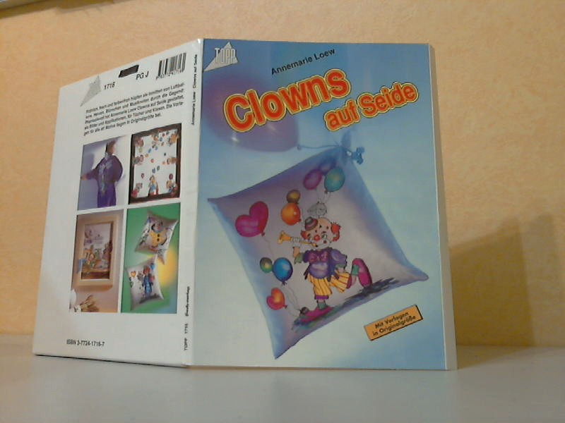 Clowns auf Seide