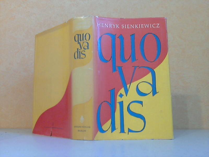 Sienkiewicz, Henryk; quo vadis 2., verbesserte Auflage