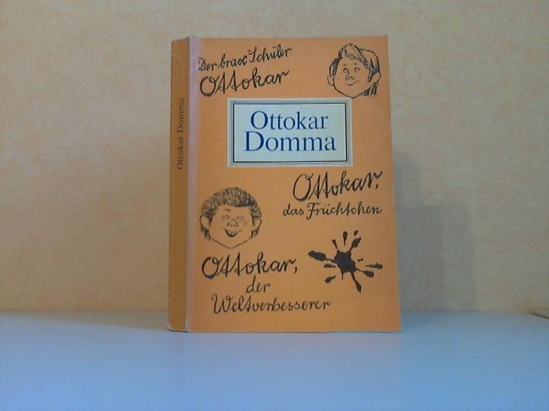 Der brave Schüler Ottokar - Ottokar das Früchtchen - Ottokar der Weltverbesserer Illustriert von Karl Schrader 6. Auflage