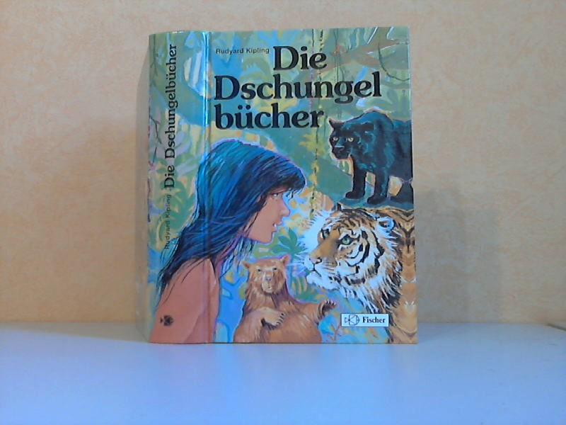 Kipling, Rudyard;  Die Dschungelbücher Mit Illustrationen von Herbert Hörn