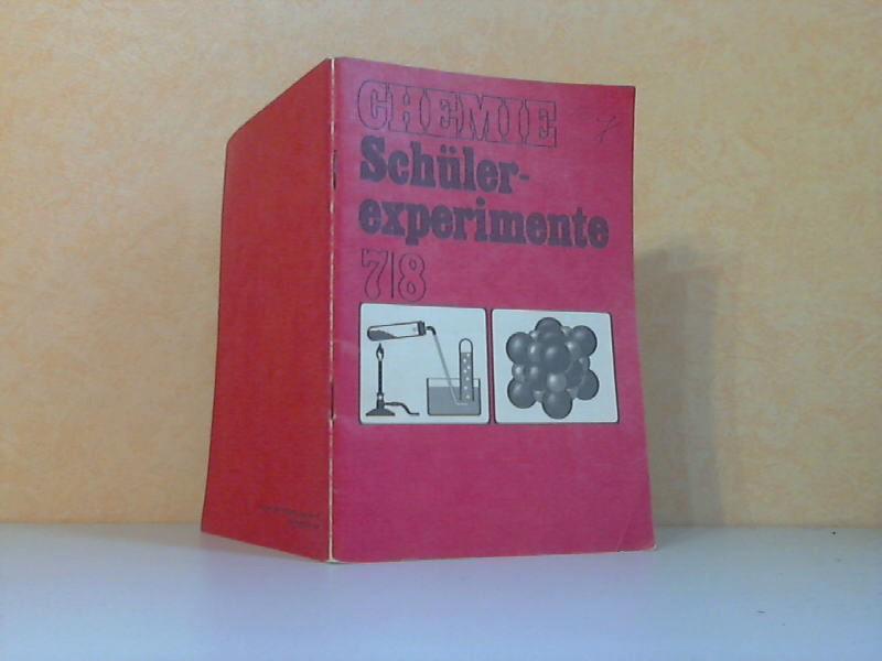 Chemie. Schülerexperimente für die Klassen 7 und 8