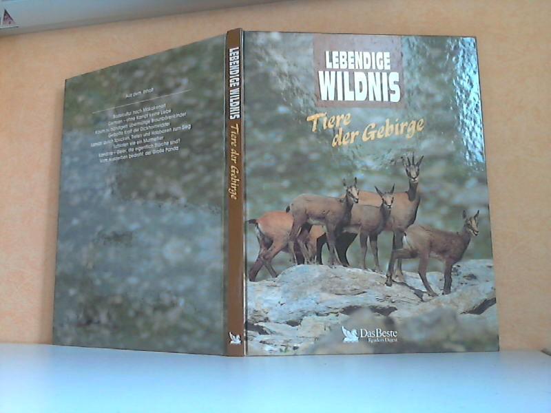 Lebendige Wildnis: Tiere der Gebirge - Große Pandas, Kondore, Braunbären, Lamas, Makaken, Gemsen, Murmeltiere, Dickhornschafe