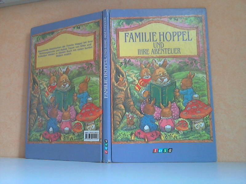 Familie Hoppel und ihre Abenteuer niustxationen von Pam Sorey