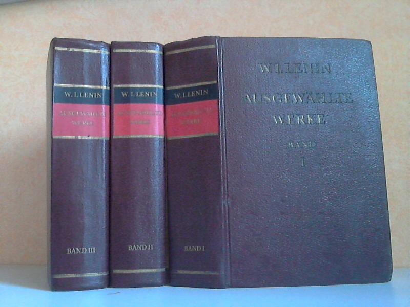 Ausgewählte Werke in drei Bänden - Band 1, 2, 3