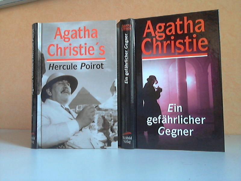 Hercule Poirot. Sein Leben und seine Abenteuer + Ein gefährlicher Gegner 2 Kriminalromane