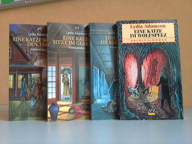 Eine Katze im Wolfspelz - Eine Katze ist kein Engel - Eine Katze schlägt den Takt - Eine Katze sitzt im Glashaus 4 Bücher 1. Auflage