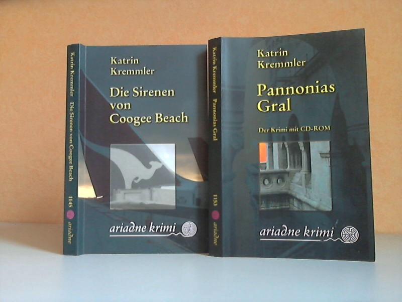Die Sirenen von Coogee Beach + Pannonias Gral. Der Krimi mit CD-ROM 2 Bücher