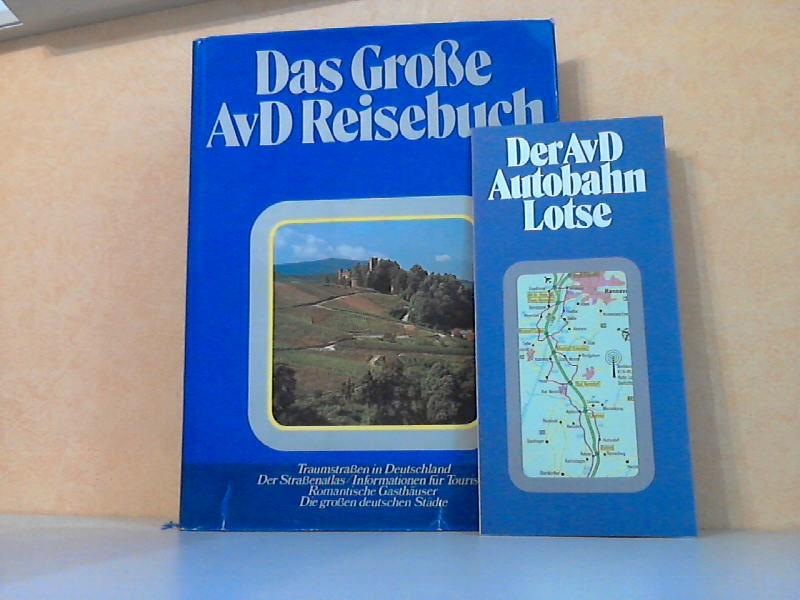 Das große AvD Reisebuch - Traumstraßen in Deutschland. Der Straßenatlas. Informationen für Touristen. Romantische Gasthäuser. Die großen deutschen Städte + Der AvD Autobahn Lotse