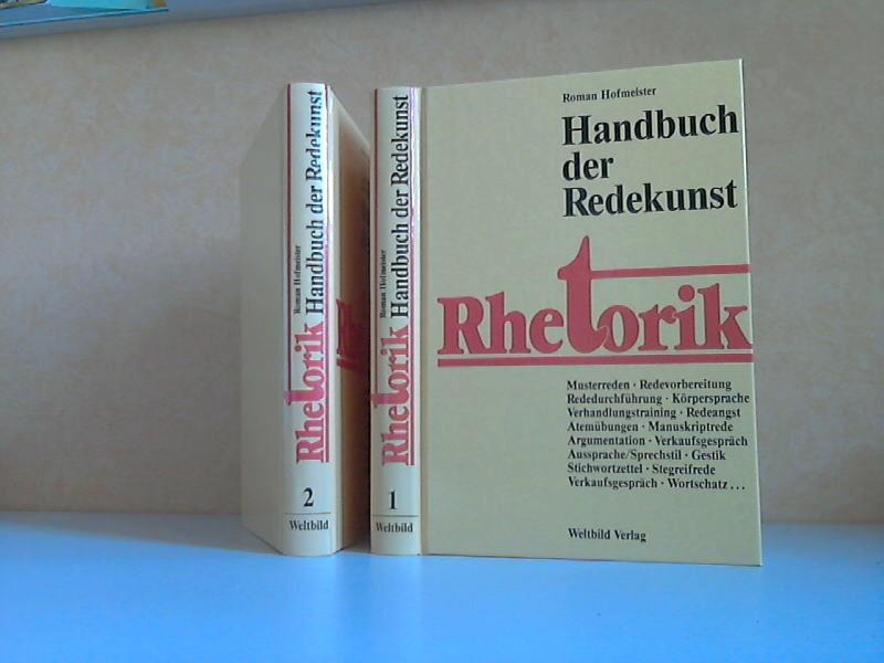 Rhetorik. Handbuch der Redekunst. Band 1 und 2 2 Bücher