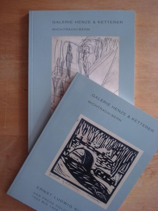 Ernst Ludwig Kirchner - 2 Kataloge in gleicher Ausstattung