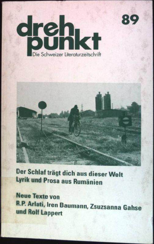 Apokryphes Porträt; in: Der Schlaf trägt dich aus dieser Welt; Lyrik und Prosa aus Rumänien drehpunkt; Bd. 89
