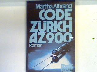 Code Zürich AZ 900 [neunhundert] : Roman. 14066 : Palette