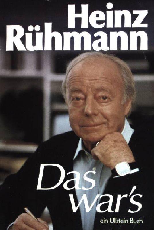Das wars. (Nr 20521) - Rühmann, Heinz