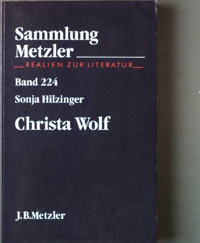 Christa Wolf. Nr. 224, - Hilzinger, Sonja