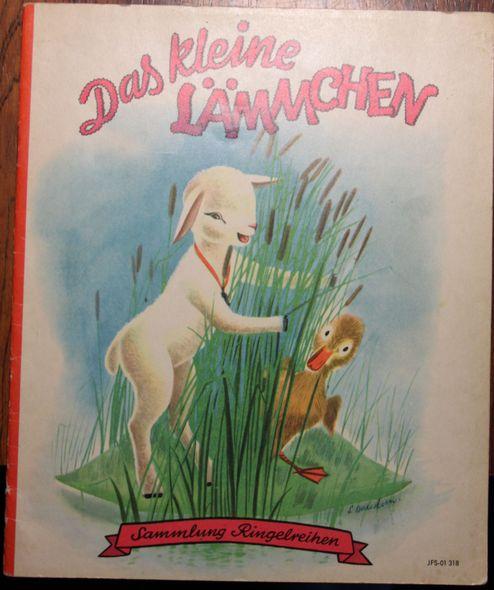 Das kleine Lämmchen Aus der Reihe : Sammlung Ringelreihen, Verlagsnummer JFS.01318