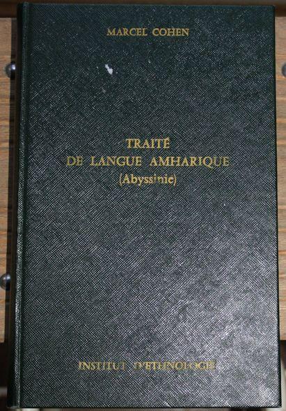 Traite de Langue Amharique (Abyssinie) Travaux et memoires de l