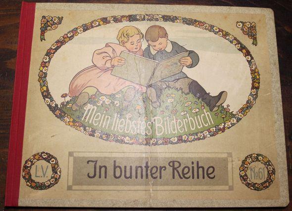 Mein liebstes Bilderbuch. In bunter Reihe. Mit 8 Buntbildern und Text. Verlagsnummer 61