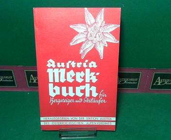 Austria-Merkbuch für Bergsteiger und Skiläufer - 1965. 1.Auflage,