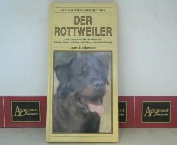 Rottweiler - Alles Wissenswerte über den Rottweiler. Haltung, Zucht, Erziehung, Ausstellung, Gesundheitsfürsorge. (= Kynos kleine Hundebibliothek). 1.Auflage,