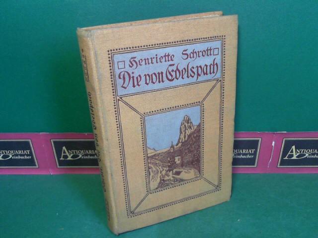 Die von Edelspach. 1.Auflage,