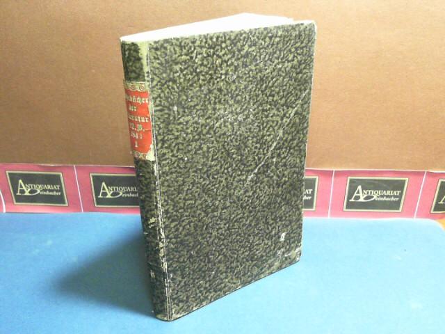 Jahrbücher der Literatur - Band 93,Januar, Februar, März 1841 - mit Anzeige-Blatt für Wissenschaft und Kunst.