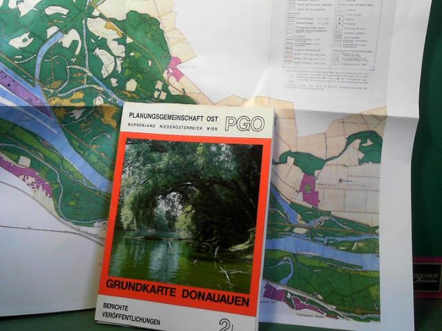 Grundkarte Donauauen. (= Berichte, Veröffentlichungen der Planungsgemeinschaft Ost, 2/88). 1.Auflage,