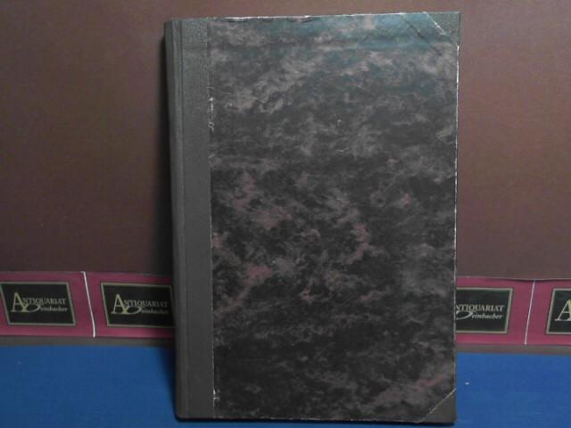 Zeitschrift der Wiener Entomologischen Gesellschaft, 42. Jg. 68. Band 1957, Nr 1-12 in einem Band gebunden 1.Auflage,