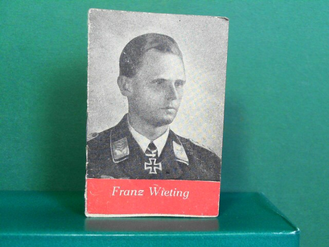 Helden der Wehrmacht Heft 20: Franz Wieting -  Kriegswinter-Hilfswerk des deutschen Volkes. (= Miniaturbücher). 1.Auflage,