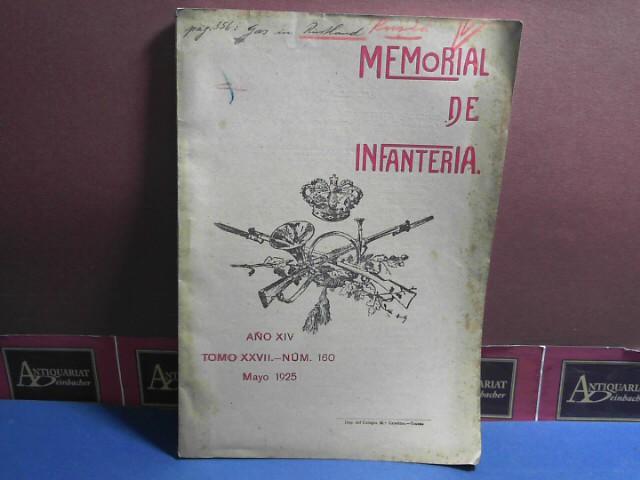 Memorial de Infanteria. Ano XIV., Tomo XXVII., Num. 160. 1.Auflage,