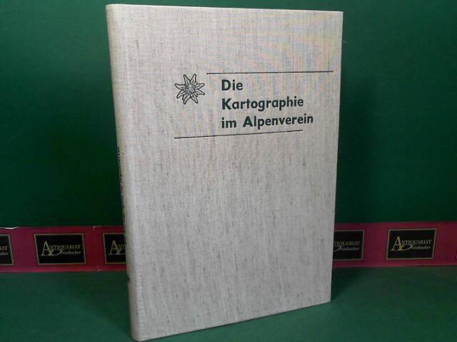Die Kartographie im Alpenverein. (= Wissenschaftliche Alpenvereinshefte, Heft 22). 1.Auflage,