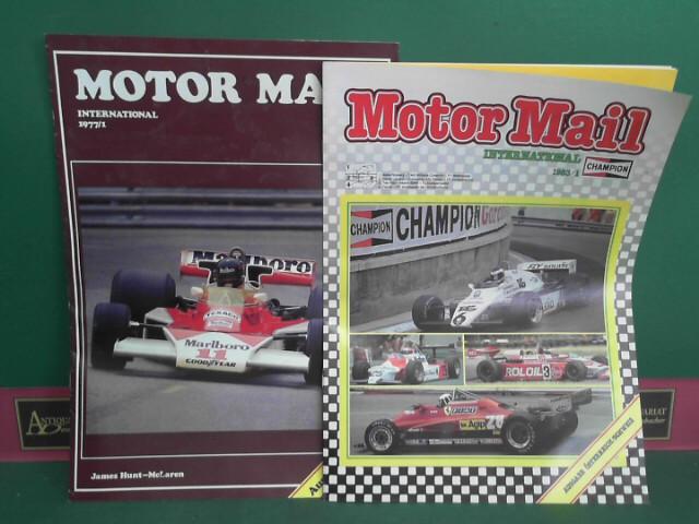 Champion Motor Mail International - Ausgabe Österreich 1976 Heft 3-4; 1977 Heft 1, 3; 1978 Heft 2-3; 1979 Heft 1-4; 1980 Heft 1-4; 1981 Heft 1-2; 1982 Heft 1,3; 1983 Heft 1-3; 1.Auflage,