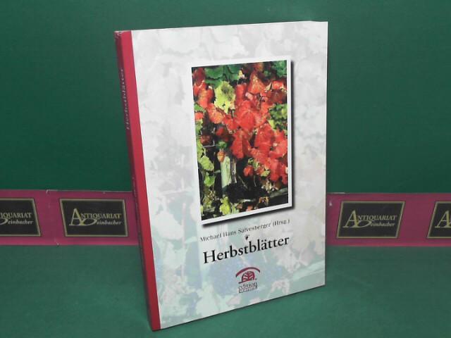 Herbstblätter. 1.Auflage,
