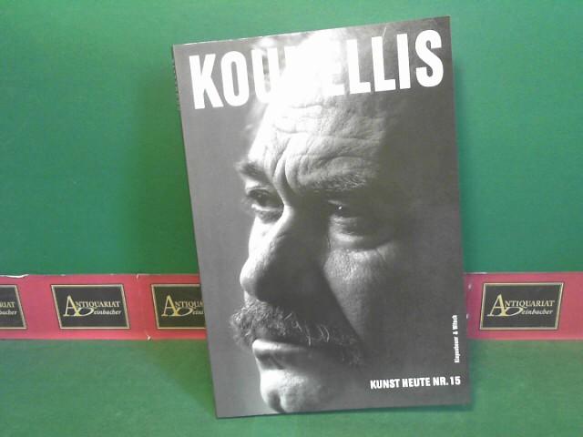 Jannis Kounellis im Gespräch... (= Kunst heute, Nr.15). 1.Auflage,