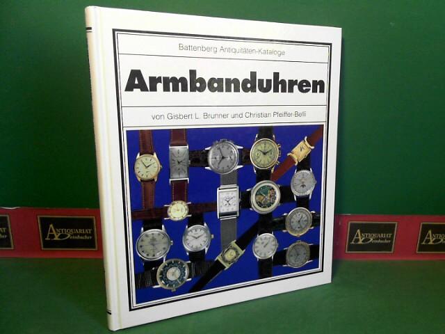 Armbanduhren. (= Battenberg-Antiquitäten-Katalog). 1.Auflage,