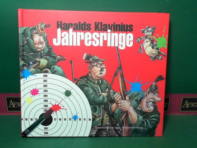 Klavinius, Haralds: Jahresringe - Die (wahrscheinlich) letzten Karikaturen vor dem großen Knall. 1.Auflage,
