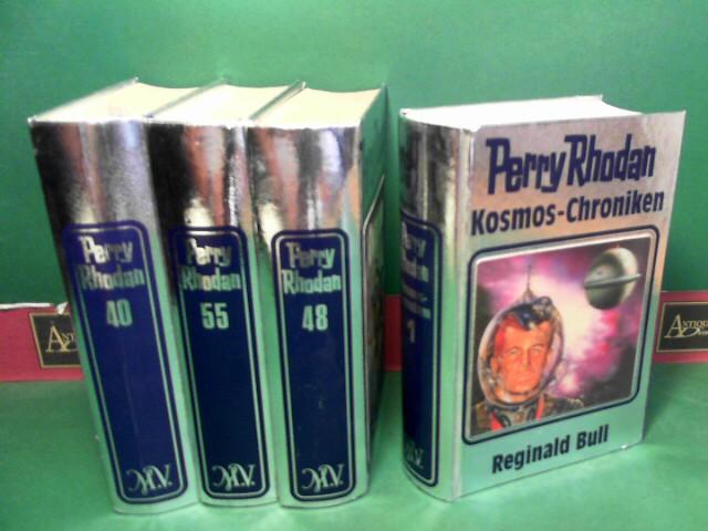 Perry Rhodan (Silberband) - Band 1-66; 1,7-15,17-19,34; Werkstattband, Kosmos-Chroniken Band 1: Reginald Bull (2x).