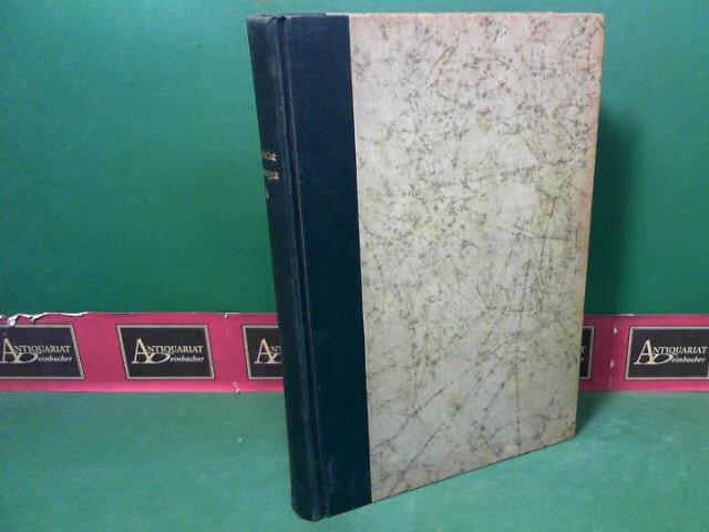 Romanische Forschungen. Organ für romanische Sprachen, Volks- und Mittellatein - Band XLVI. 1.Auflage,