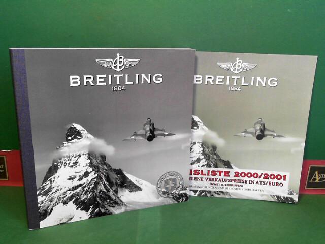 Gesamtkatalog Breitling 2000 - Instruments for Professionals - mit Preisliste 2000-2001. Ausgabe 10/2000