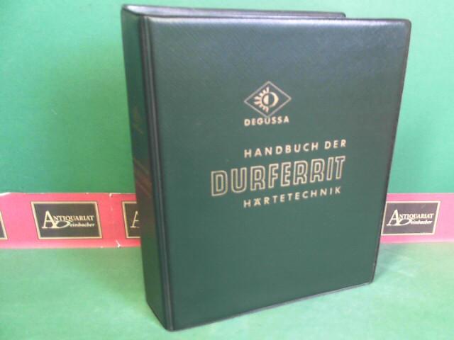 Degussa (Hrsg.).: Handbuch der Durferrit-Härtetechnik. 9.Auflage des Durferrit-Taschenbuches,