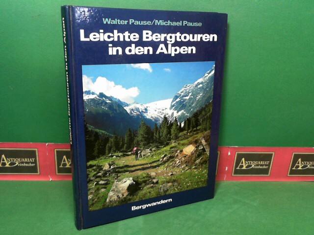 Leichte Bergtouren in den Alpen.
