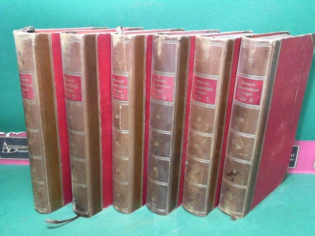Lebensbeschreibungen - in sechs Bänden. Mit Anmerkungen nach der Übersetzung von Kaltwasser.  (= Klassiker des Altertums, Zweiter Reihe, Band 1-6).