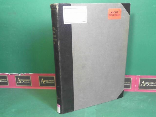 Die Naturwissenschaften  - 31.Jg.1943. (Wochenschrift für die Fortschritte der reinen und der angewandten Naturwissenschaften. 1.Auflage,