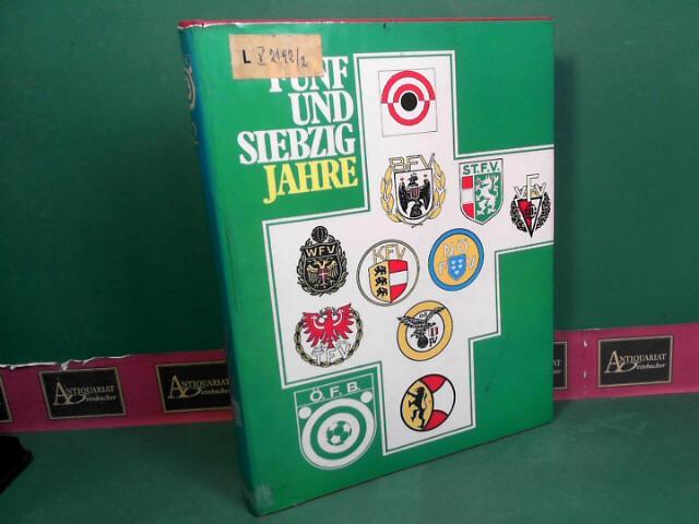 Langisch, Karl: Fünfundsiebzig(75)  Jahre ÖFB - 2.Band: Die Bundesliga und die Chronik der Fussball-Landesverbände. 1. Aufl.