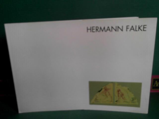 Hermann Falke - Unser Leben ist ein Schatten - Letzte Zeichnungen, Aquarelle und Gemälde. Januar - Mai 1986. (= Katalog zur Ausstellung). 1.Auflage,
